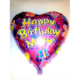 Foil Balloon HAPPY BIRTHDAY MOM