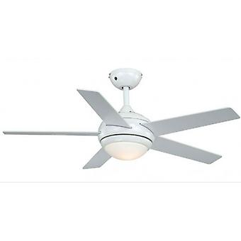 Ceiling Fan FRESCO White with Light and Remote