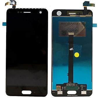 Wyświetlacz LCD kompletny do ZTE blade V8 Czarny