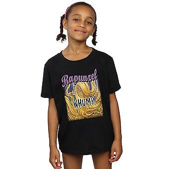 Disney Girls Tangled Rapunzel Whump t-paita