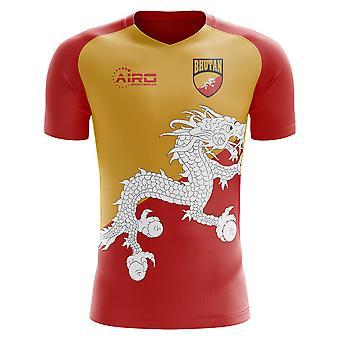 Koszuli piłki nożnej 2018-2019 Bhutan Home Concept (dla dzieci)