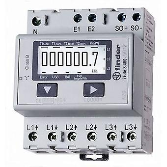 Finder 7E.46.8.400.0012 Electricity meter (3-phase) Digital 65 A MID-approved: Yes 1 pc(s)