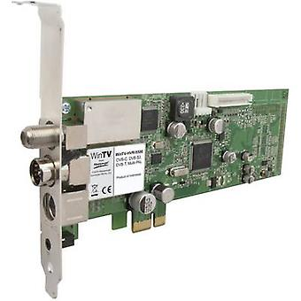 Hauppauge HVR-5525HD DVB-C (cable), DVB-S (sat), DVB-T (aerial), DVB-T2 (aerial), Twin tuner, analogue PCIe- Recording function, incl. remote control No. of