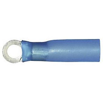 Vogt Verbindungstechnik 3647ah Ring Terminal + Schrumpfschlauch Querschnitt (Max.) = 2,50 mm ² Loch Ø = 10,5 mm isoliert teilweise Blue 1 PC