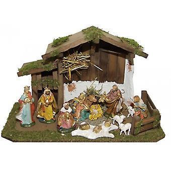 Wieg TIGRIS houten Manger Nativity kerst Nativity testing
