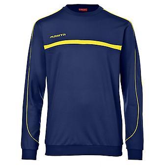 Masita Brasil Sweatshirt dark blue yellow 3014-2230