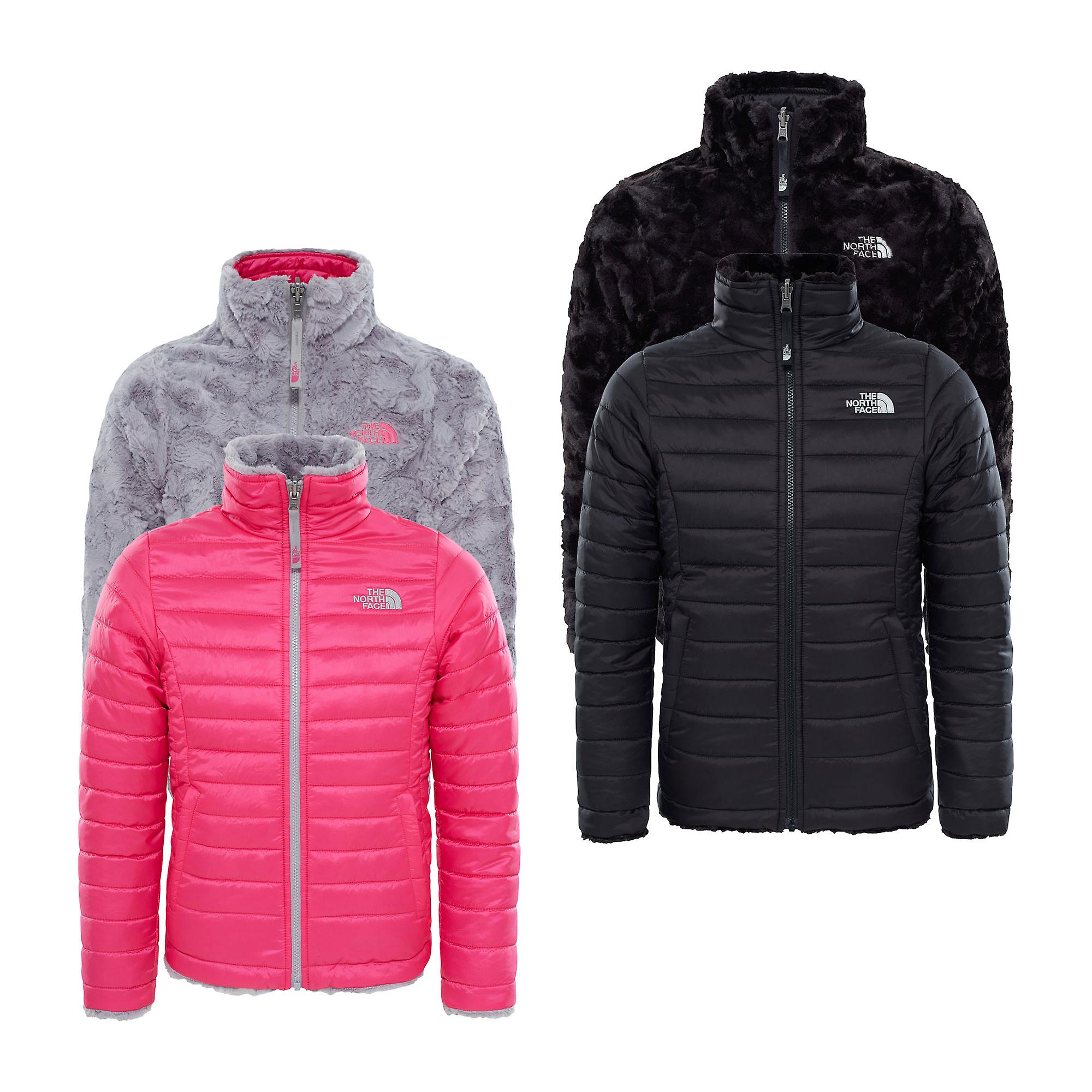 2082c7ef900b The North Face Girls Reversible Mossbud Swirl Jacket