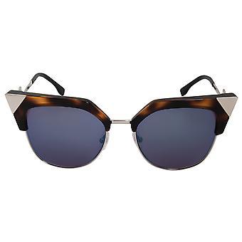 Fendi Iridia Cat Eye Sunglasses FF0149S TLV XT 54