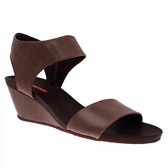 Pedro Miralles Women's Ankle Strap Wedge Sandal