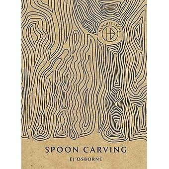 Den yxa & Bear bok sked Carving av E. J. Osborne - Marte Mar