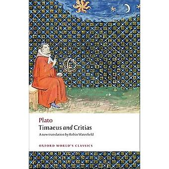 Timaeus and Critias by Plato - Robin Waterfield - 9780192807359 Book