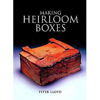 Fabrication de boîtes d'héritage