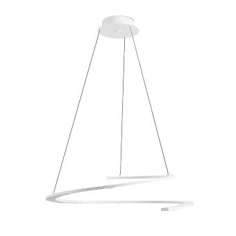 Curl Spiral hængende lys hvid - Leds-C4 00-4835-14-14