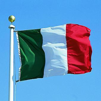 Duże Włochy flagi narodowej z pierścieniami 90x150cm wisi transparent na świecie puchar mistrzostw sportowych TRIXES