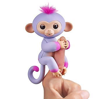 Sættefisk 2Tone abe - Sydney (lilla med Pink accenter)