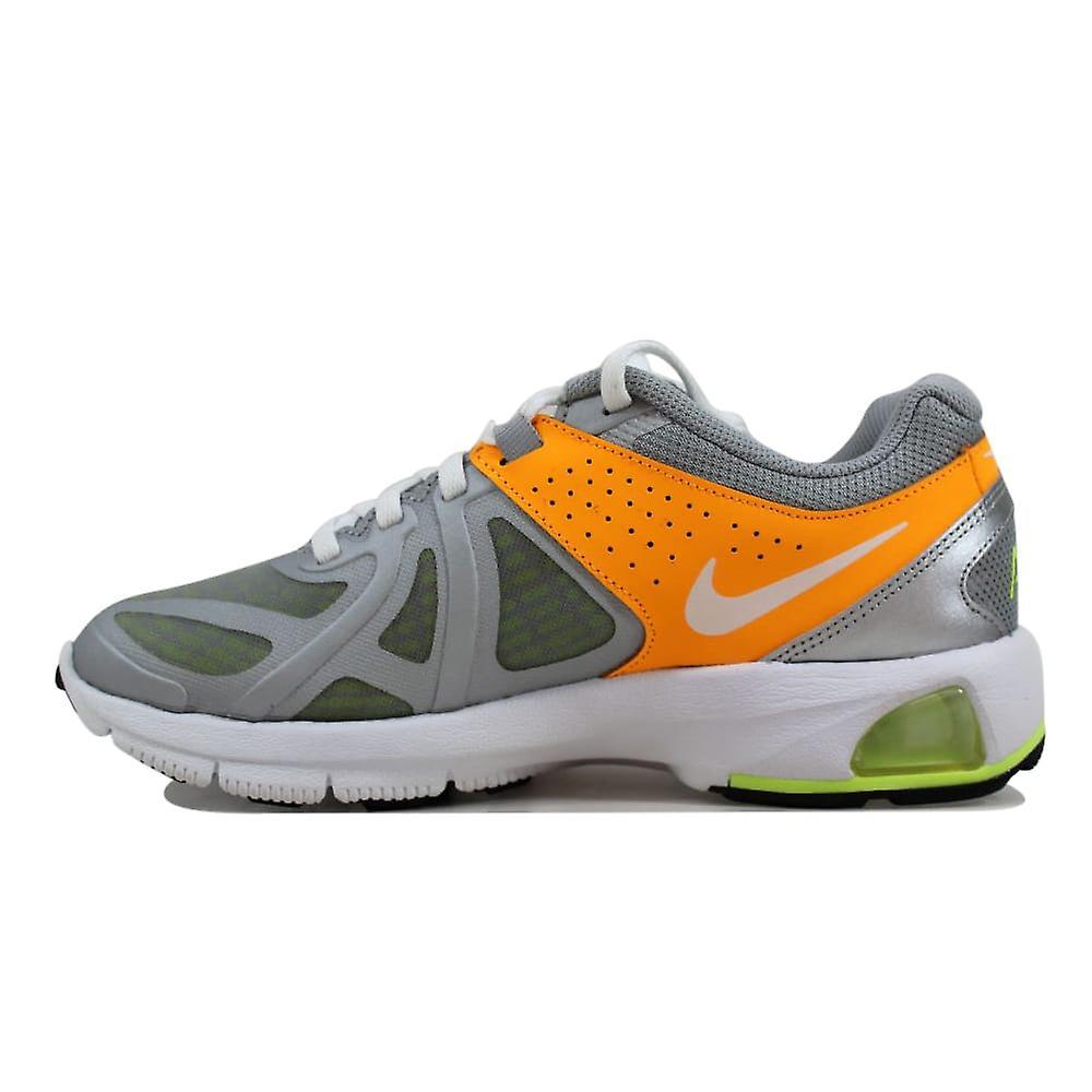 Nike Air Max kör Lite 5 metalliskt Silvervit Atomic Mango Volt Damernas 631664 006 storlek 6 Medium