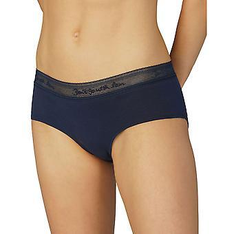 Femmes de Mey coton 29514-408 femmes dentelle nuit bleu sous-vêtements Hipster