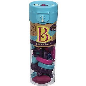 B. lelut kauneus Pops korut Craft Set-turkoosi