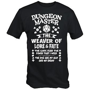 Dungeon master t shirt role plat dnd dungeons and dragons