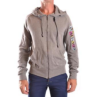 John Galliano Ezbc164005 Men's Grey Cotton Sweatshirt