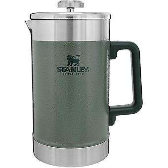 Stanley Classic 48 oz. Stay Hot French Press Coffee Pot - Hammertone Green