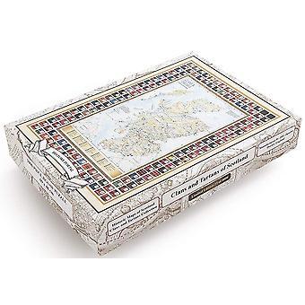 Clans en Tartaren van Schotland 1000 stuk puzzel 690 x 480 mm (jg)