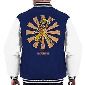 Cheetara Retro Japanese Thundercats Men's Varsity Jacket