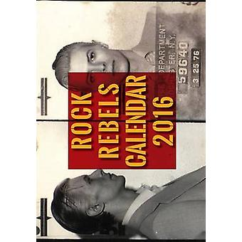 Rock Rebels Calendar - 9781626543072 Book