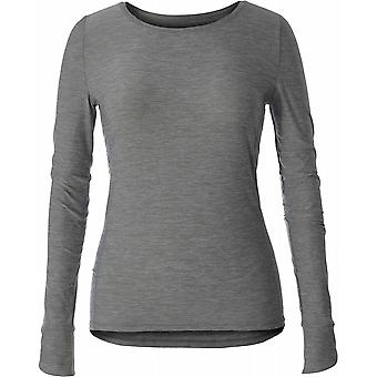 Royal Robbins Women's Bug Barrier Tech Travel Long Sleeve - Pewter Heather