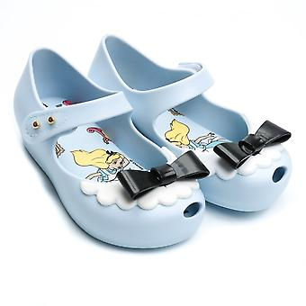 Melissa Shoes Mini Alice Ultragirl Shoe,Sky Bow