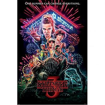 Stranger Things 3 Affiche 133