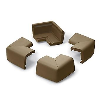 Prince Lionheart Four Cushiony Corner Guards  Chocolate