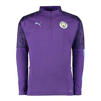 2019-2020 Manchester City Puma Training Fleece (Purple)