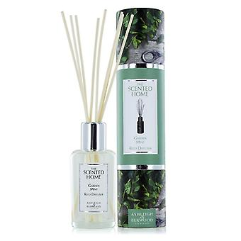 Ashleigh & Burwood Scented Home 150ml Reed Diffuser Fragrance Gift Set Garden Mint