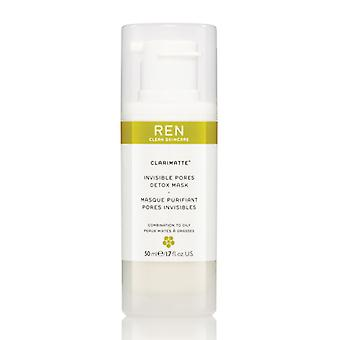 REN Clarimatte Invisible Pores Detox Mask 50ml
