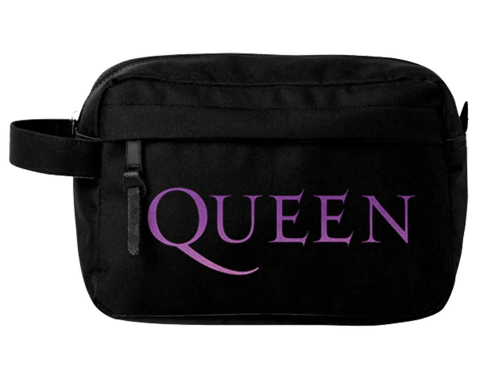 Queen Wash Bag Classic Crest band logo nya officiella svart