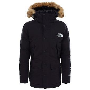 De North Face zwarte mens Mountain Murdo GTX jas