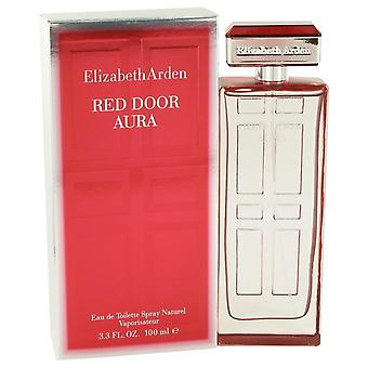 Red Door Aura Eau De Toilette Spray By Elizabeth Arden   498240 100 ml