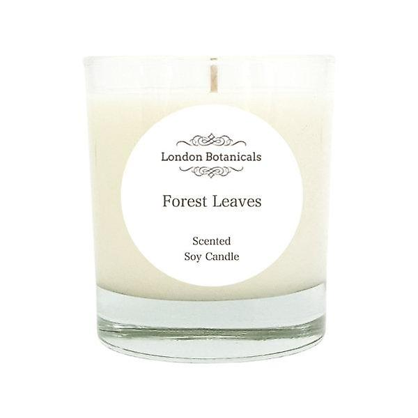 Forest leaves 185g scented natural 100% soy candle