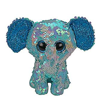 TY Flippables Beanie Boo Stuart de olifant-15 cm