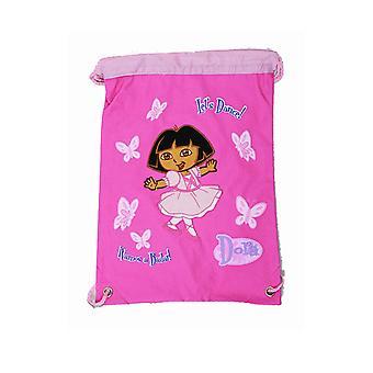 String Backpack - Dora the Explorer - Ballet - Cinch Bag New Girls Gift 29767