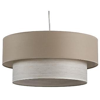 Wellindal lampe d'affichage double toit (Éclairage , Éclairage d'intérieur , Lustres)