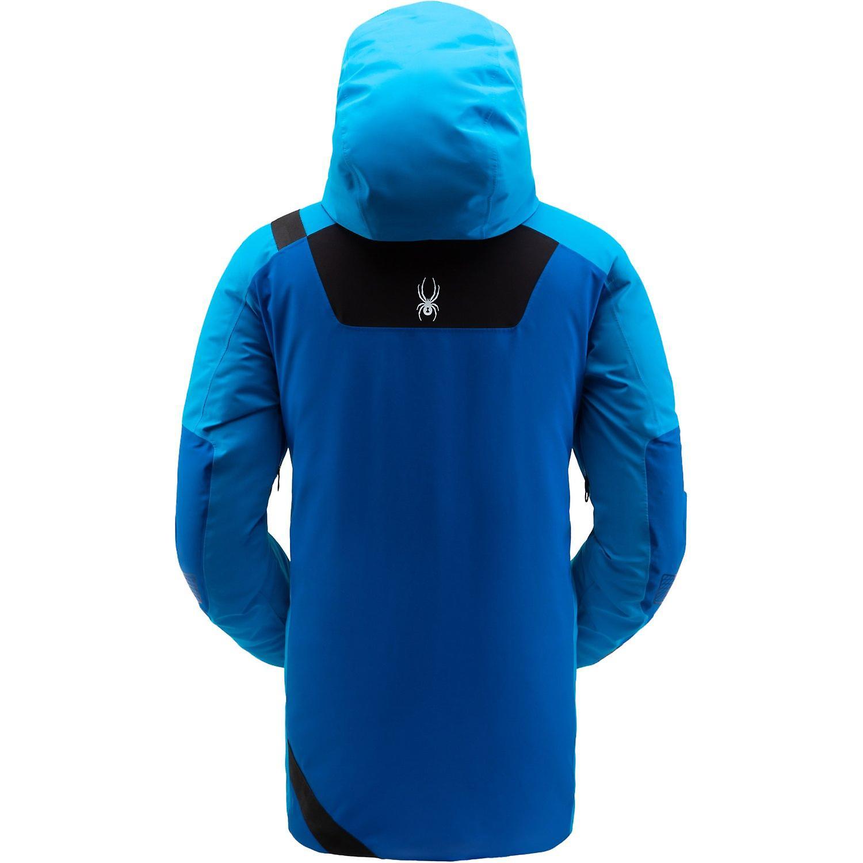 Spyder TORDRILLO Herren Gore-Tex Primaloft Ski Jacke - blau