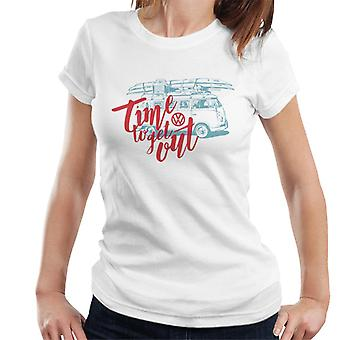 Volkswagen Time To Get Out Camper Women's T-Shirt