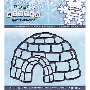 Find It Trading Yvonne Creations Playful Winter Die-Igloo