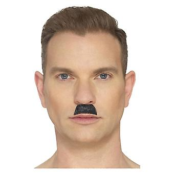 Mens The Toothbrush Moustache Fancy Dress Accessory