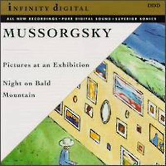 M. Mussorgsky - Musorgskij: Tavlor på en utställning; Natt på Bald Mountain [CD] USA import