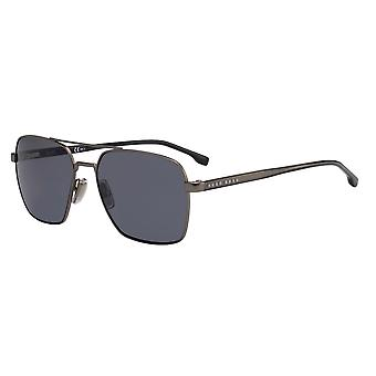 Hugo Boss 1045/S V81/IR Dark Ruthenium Black/Grey Sunglasses