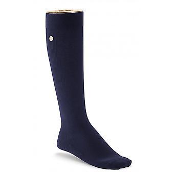 Birkenstock Womens Support Sohle Socken 1002484 Navy