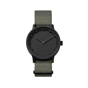 Leff Amsterdam LT74252 Grey Nato T32 Black Tube Wristwatch
